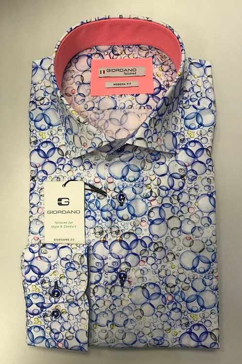 Giordano multi colors print shirt