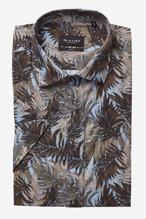 SAND Copenhagen Floral short sleeves shirt