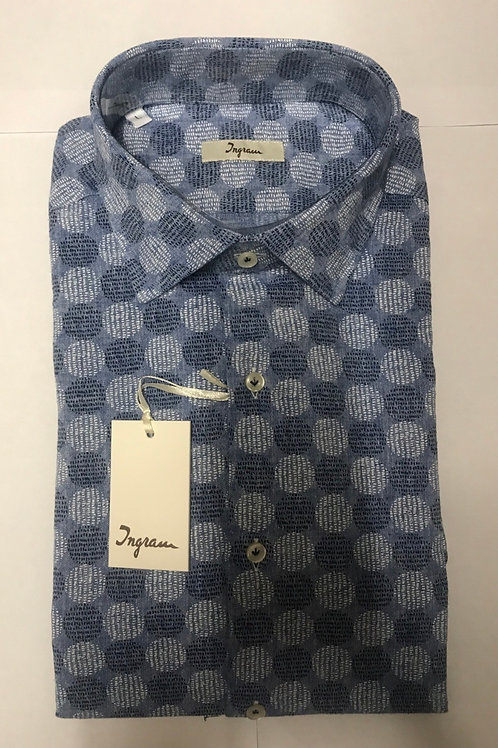 Ingram blue shirt