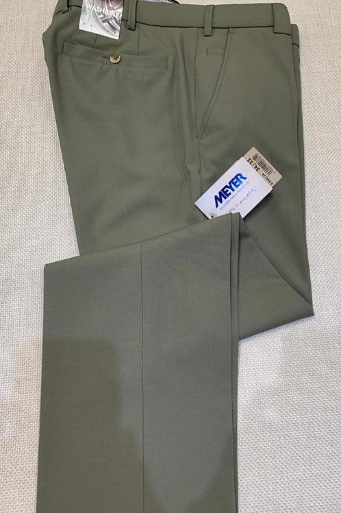 Meyer Roma khaki formal trousers