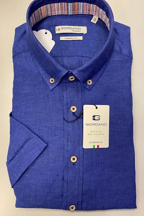 Giordano linen shirt in Blue