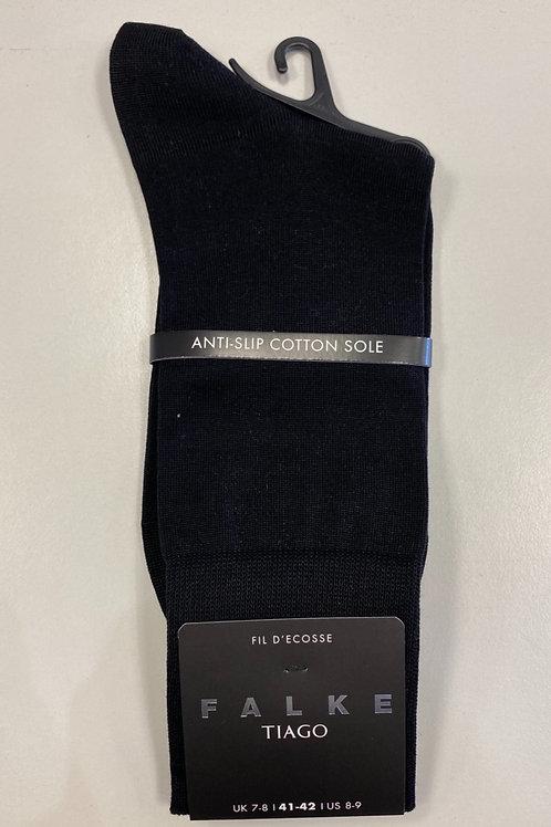FALKE  anti-slip cotton sole Socks  black