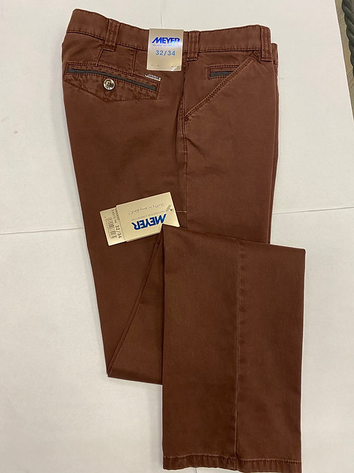 Meyer 2-5573-54 Chicago  dark red chino