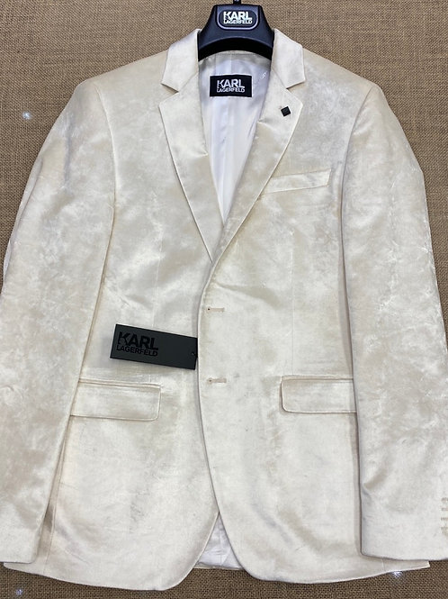Karl  502061-80 Lagerfeld white  jacket