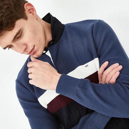 Eden Park Long sleeve blue stripe knitwear