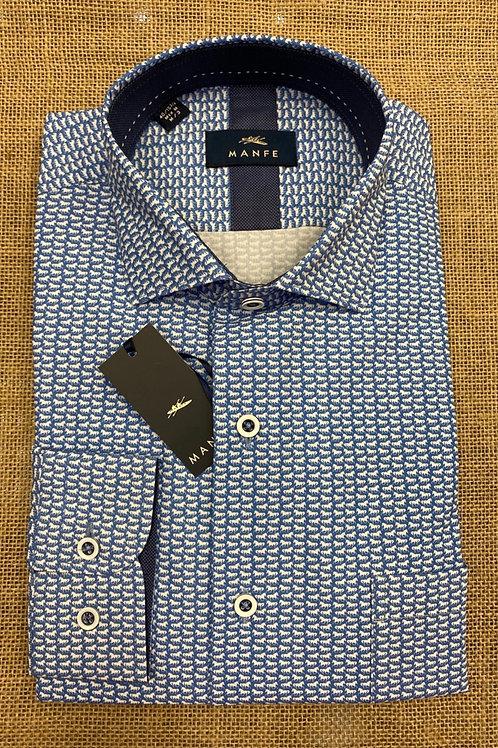 Manfe blue shirt
