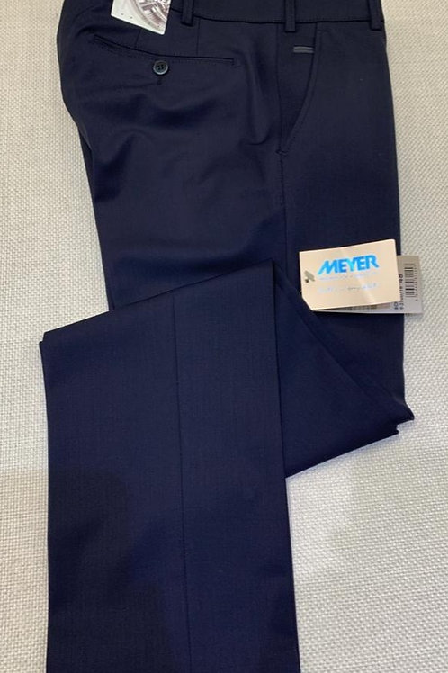 Meyer Bonn Navy blue formal trousers