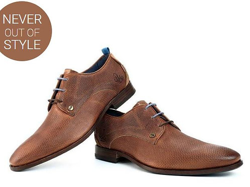 Rehab  cognac lace-ups shoes