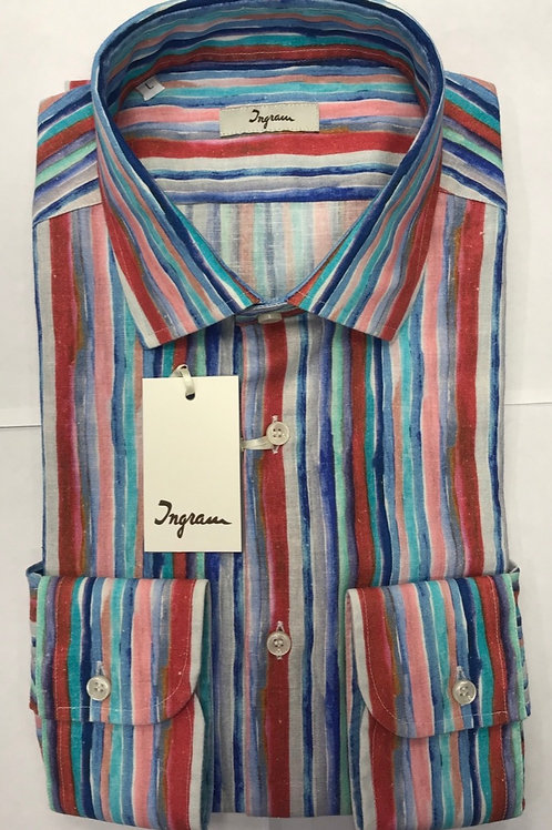 Ingram Multicolors strips shirt