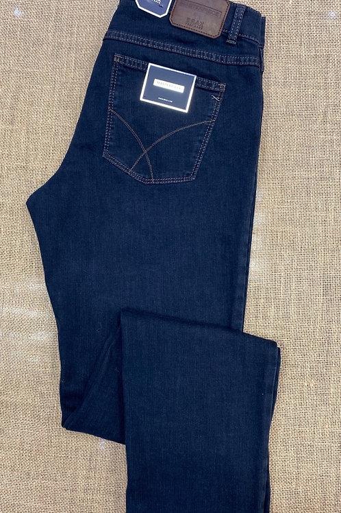 BRAX  Cooper style trousers regular fit - Dark Denim