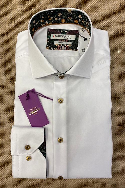 Giordano white  shirt