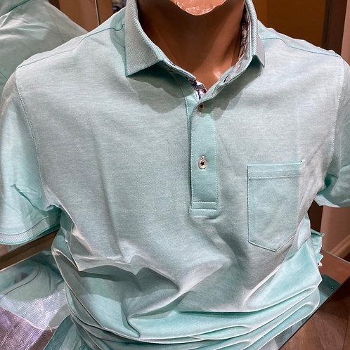 Giordano Polo shirt mint with pocket