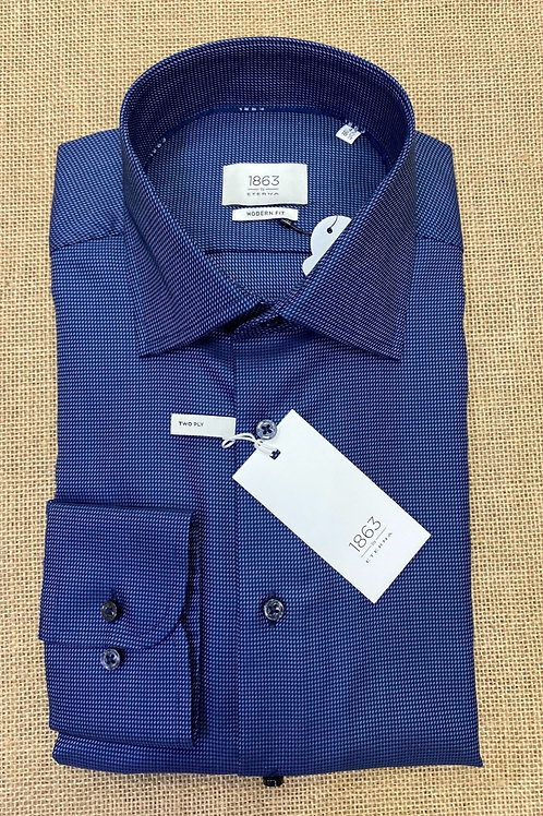 Eterna  Long sleeve shirt navy blue