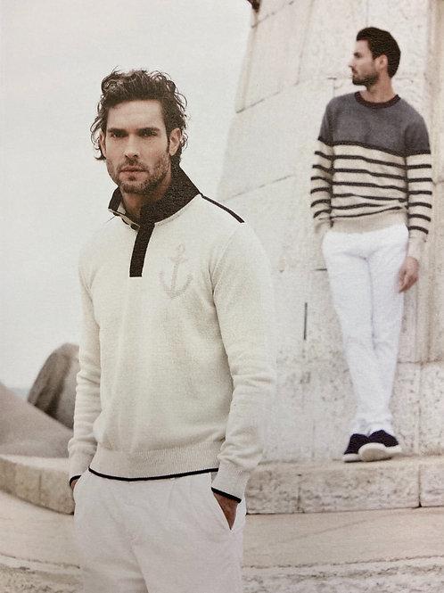 Impulso Cream knitwear