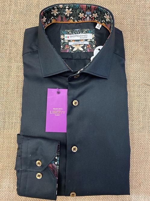 Giordano black shirt
