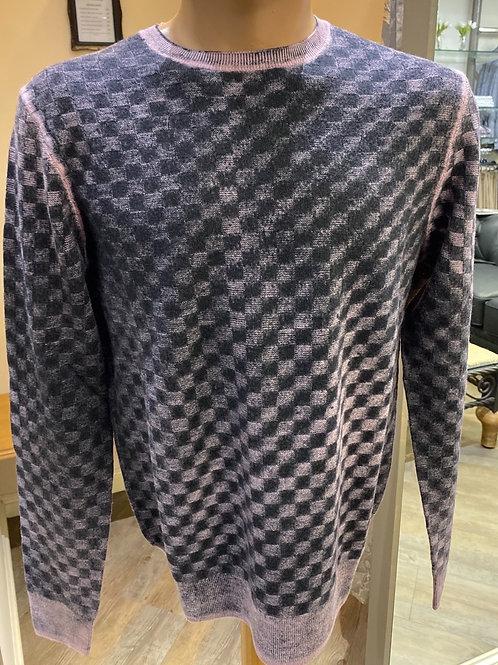 Lorenzone  black check knitwear