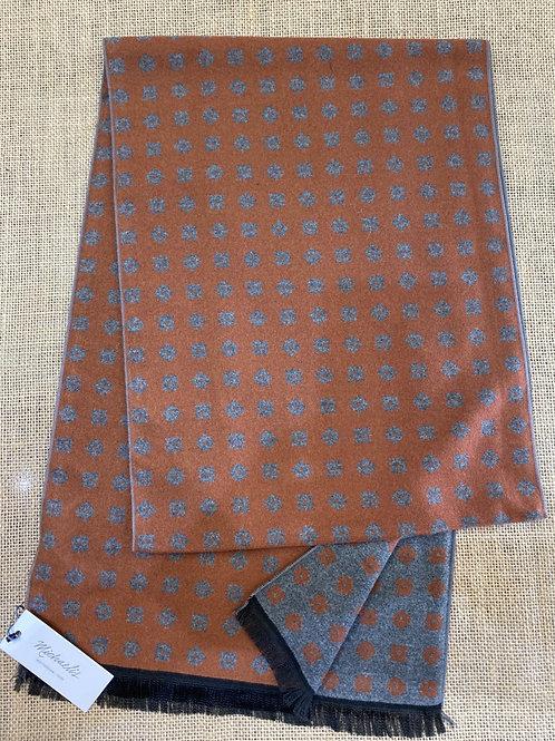 Micro pmrs300 grey brown scarf