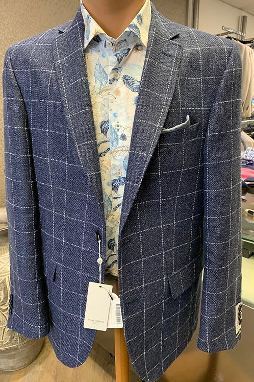 Carl Gross Blue check jacket