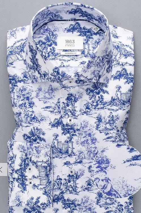 Eterna 3973-16 Flint Long sleeve shirt