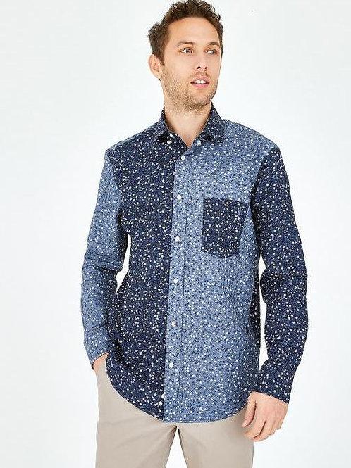 Eden Park Long sleeve blue shirt