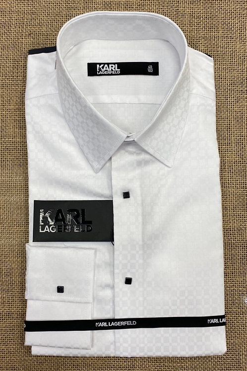 Karl Lagerfeld long sleeve white  shirt