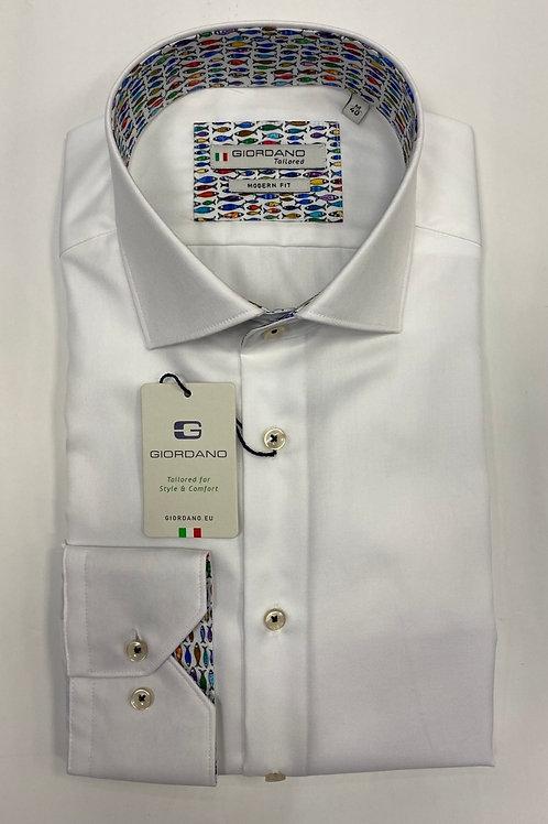 Giordano 7877-10 white  shirt