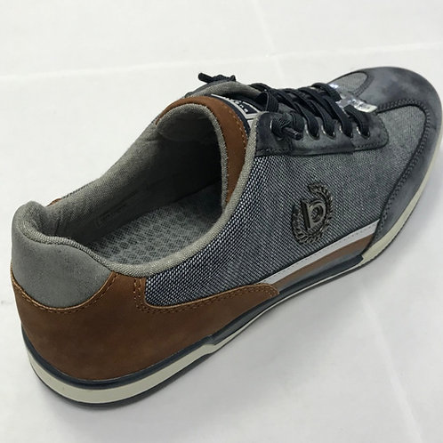 Bugatti 72606-1100 grey sneakers Soft Flex and Easy Change