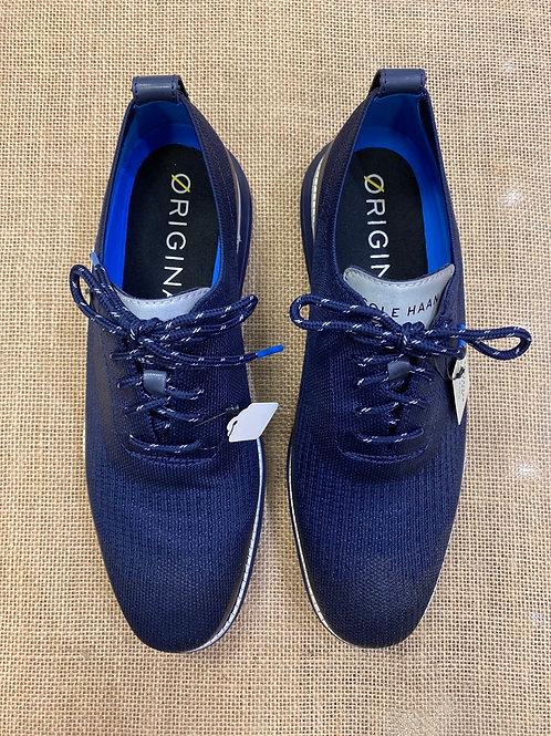 COLE HAAN Men's ØriginalGrand Stitchlite Wingtip Oxford Navy Blue