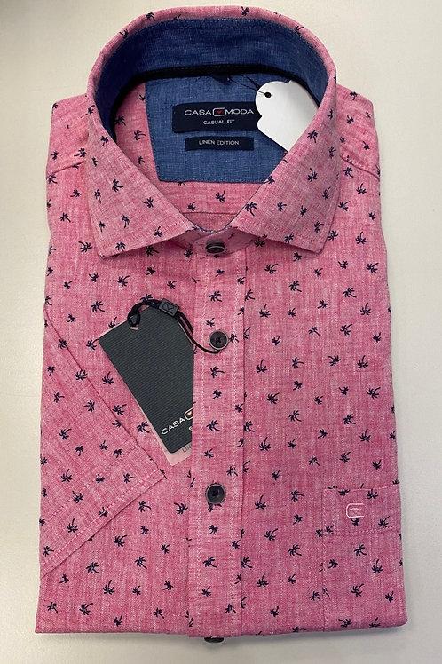 Casa Moda short sleeve shirt in pink