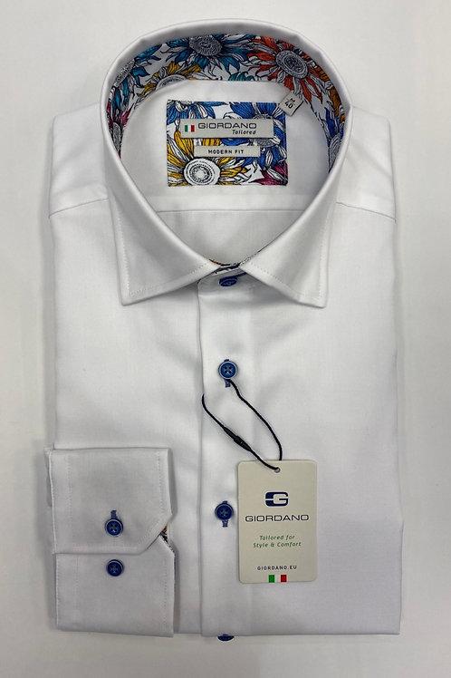 Giordano 7875-10 white  shirt