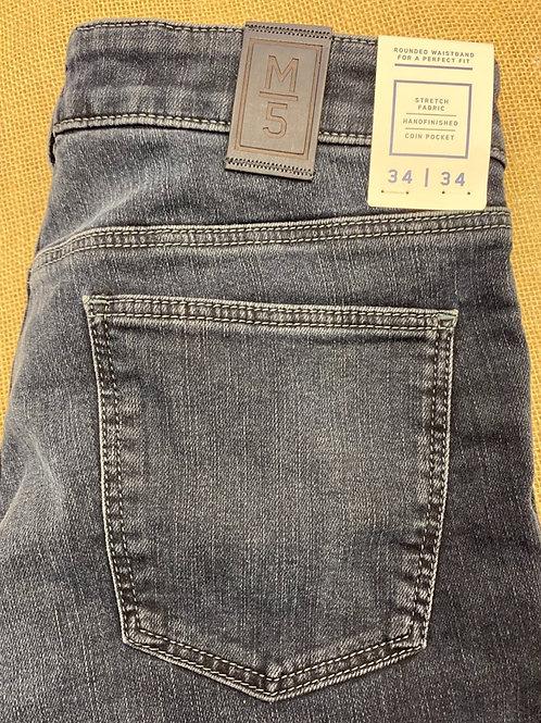Meyer 9-6228-18 Slim M5 Super Stretch Jersey Dark Denim