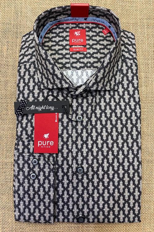 Pure long sleeves black/grey shirt