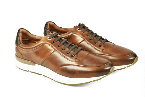 Azor lace up  shoes in tan