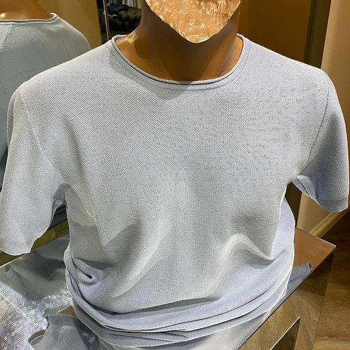 Thomas Main short sleeves knitwear in sky
