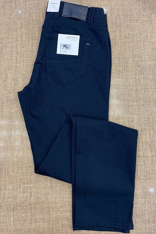 BRAX 85-1527-23 Cadiz  trousers Black/Navy blue