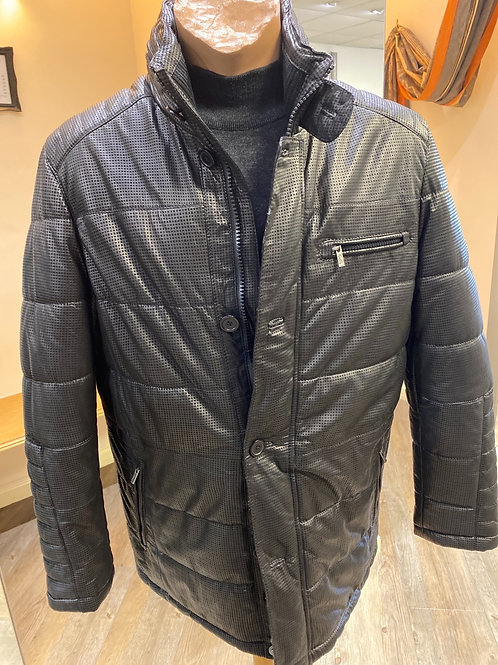 Smarty Black  Leather Jacket