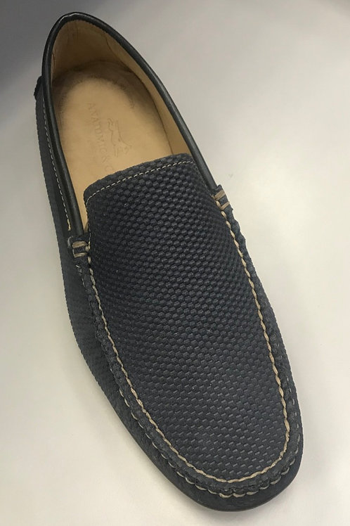 Anatomic moccasin in Navy Blue