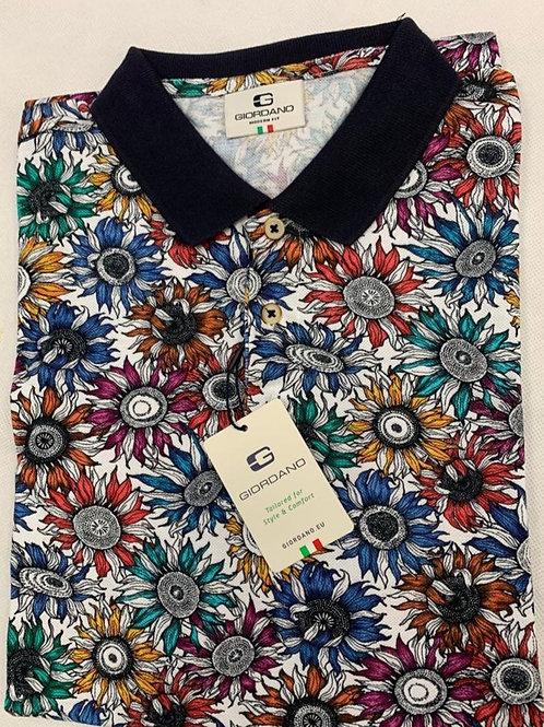 Giordano multicolor polo shirt