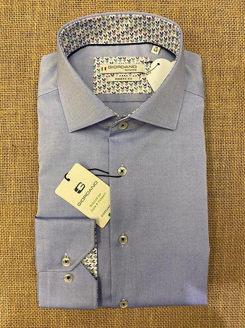 Giordano 207845-61 blue shirt