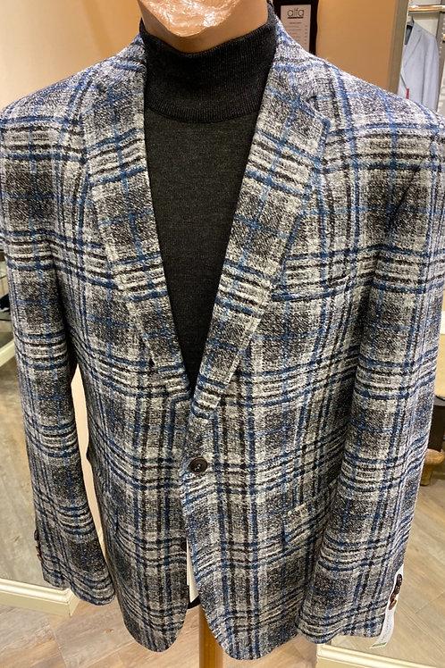 Carl Gross grey check jacket