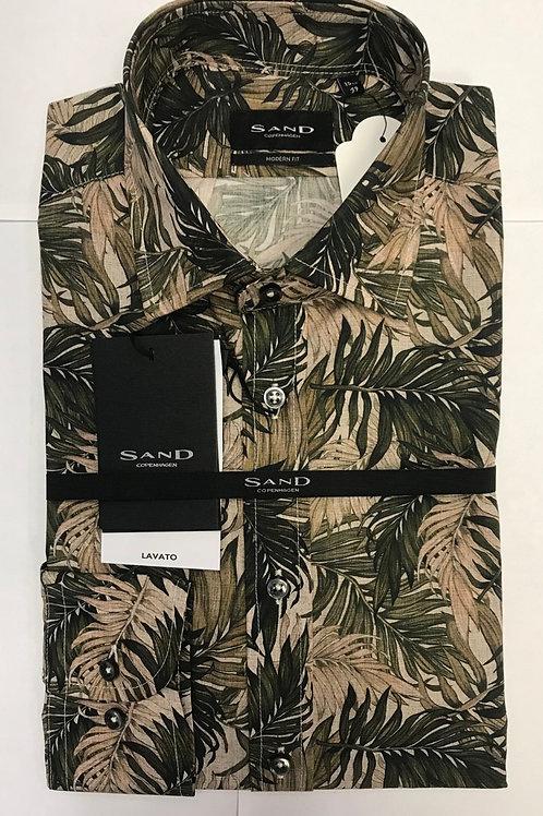SAND Copenhagen Floral long sleeves shirt