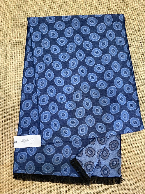 Micro pmrs300 navy blue scarf