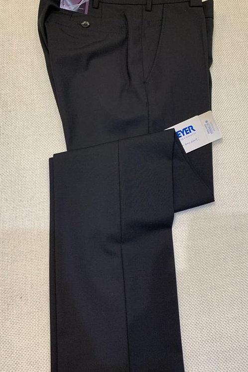 Meyer Roma Black formal trousers