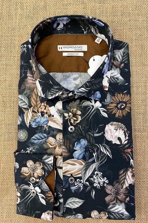 Giordano floral  shirt