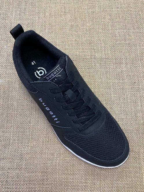 Bugatti Black sneaker