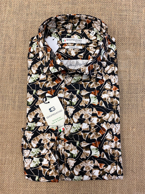 Giordano 207823-90 floral  shirt