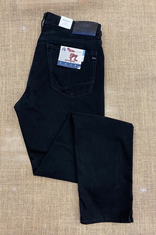 BRAX 80-6450-21 JEANS Chuck style trousers in Black