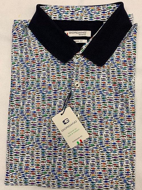 Giordano multicolors polo shirt