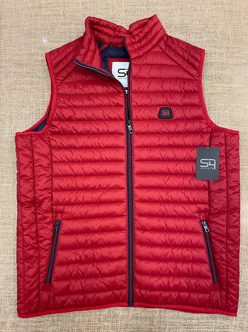 S4  Gilet Red