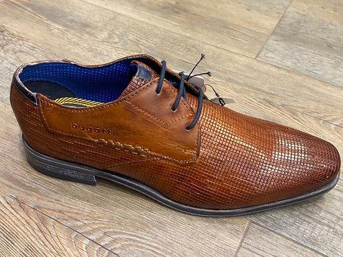 Bugatti 90901-6300 lace-up shoes in cognac